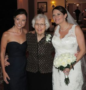Me, Nana and Lee on Lee's wedding day!